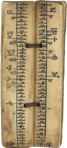 FRANSWAZZ//: runic Calender Norway 15th century