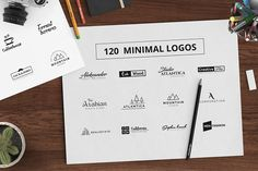This amazing high quality collection of 120 Minimal Typography Logos Bundle will help you to make creative and professional logo for your commercial identity. Simple but awesome combination of font will enhance the perfection of your branding. Every logo is fully editable and very easy to customize. Everything is done, just change the name within a minute. Two types of font information. If you need just one or few logos then individual font information will save your time. Features: High…