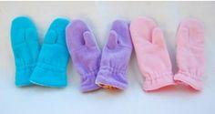 Tutorial: Reversible fleece and flannel mittens · Sewing | CraftGossip.com