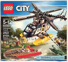 Lego- City- Helicopter Pursuit (60067)- Retired