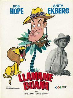 """El amo de la selva (1963) """"Call Me Bwana"""" de Gordon Douglas - tt0056897"""
