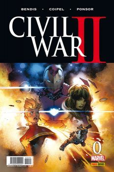 """Civil War II 0"" (Brian Michael Bendis, Olivier Coipel y Jim Cheung, Panini…"