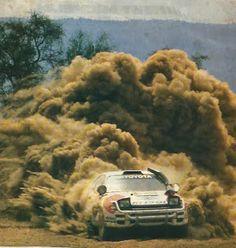 Carlos Sainz-Luis Moya, com Toyota Celica Turbo 4WD, vence o Rallye Safari 1992