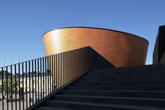 Kamppi Chapel. Location: Simonkatu 7, Helsinki, Finland; firm: K2S Architects Ltd; photos: Tuomas Uusheimo, Marko Huttunen; year: 2012