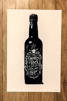 Bottle Prints by Conrad Garner