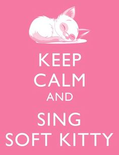 Soft kitty is just the best song in the world