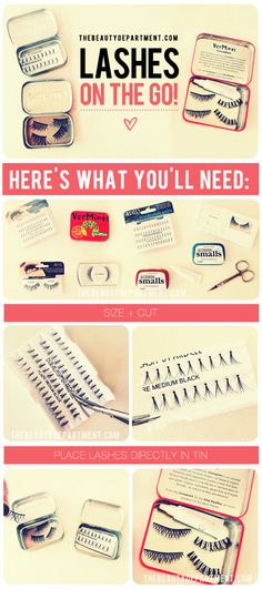 How to store your lashes + take them with you GET LISTED TODAY! http://www.HairnewsNetwork.com  Hair News Network. All Hair. All The time.