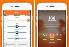 Spring Moves (free, iOS) is an app that's kind of like SoulCycle for running.