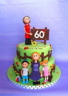 3-Generations Birthday Cake