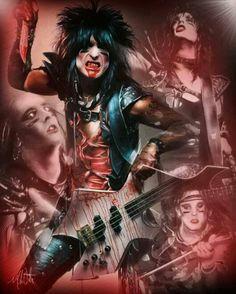 Nikki Sixx - Mötley Crüe