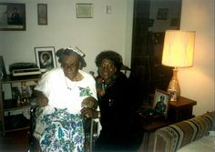 The two most influential women and yielders of my life; mother (Mary) and grandmother (Pearl) in 1992