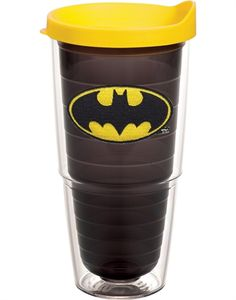 awwww YEAH! just ordered this baby plus an extra lime green lid and straws, awesome!    Batman Tervis Tumbler