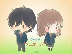 Ao haru ride chibi>>>>I love this anime!!