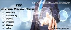 ERP Software manufacturer company in India who beleive in delivering perfect match to your query and requirements