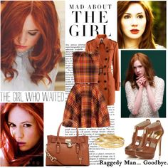 """Karen Gillan/ Amy Pond"" by jenica35 on Polyvore. I had to repin this cause I've never met some one with the same spelling as my daughter."