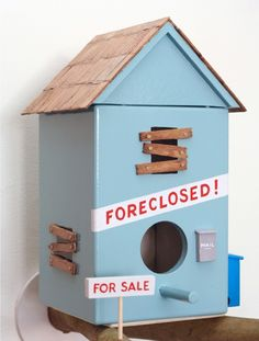 * Bird Houses by Luke Bartels and Jeff Canham ~ this is just s0 sAd :(  *