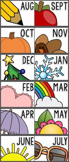 Organizing Monthly Materials {Monthly Bin Labels FREEBIE!} | Teaching Special Thinkers