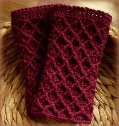 Gehäkelte Pulswärmer - Crocheted Mitts http://www.crochet-owl.com/2014/09/hallo-ihr-lieben-es-wird-mal-wieder.html?spref=pi