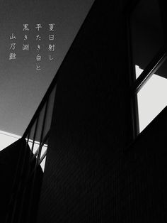 夏日射し 平たき白と 黒き淵 [山乃鯨] #photoikku #jhaiku #俳句 #写真俳句# #superpopcam