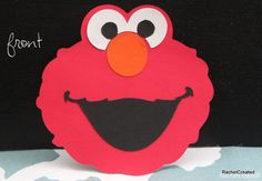 Elmo+Birthday+Invitations+by+RachelCreated+on+Etsy,+$15.50