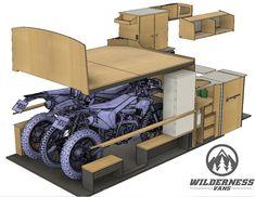 4x4 Camper Van, Build A Camper Van, Camper Caravan, Truck Camper, Cargo Van Conversion, Van Conversion Interior, Camper Van Conversion Diy, Kombi Trailer, Camper Trailers