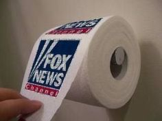 Fox News toilet paper (because they're full of sh*)