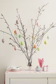 """We always had an """"Easter egg tree"""" when I was growing up. Makes me miss my childhood"""