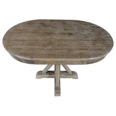 Kosas Home Rockie Pine Wood Oval Dining Table