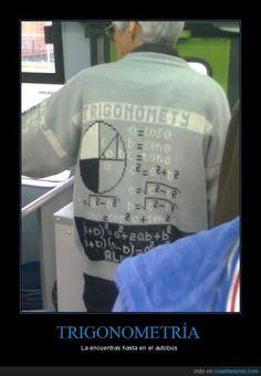 TRIGONOMETRÍA - La encuentras hasta en el autobús