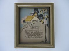 A Tribute to My Dad Framed Poem by Catsandclover on Etsy