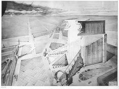 Competition entry for the Narkomtiazhprom building 1934