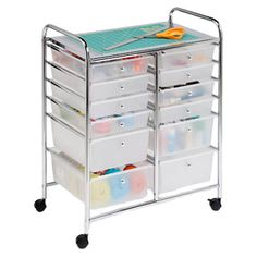 You should see this 12 Drawer Rolling Cart in Chrome on Deals + Modern Design Ideas   AllModern