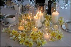 all candle centerpiece