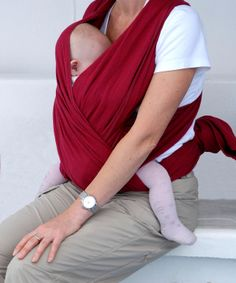 "Moby style baby wrap- at least 5 yards of 20-35"" wide of fleece or cotton knit!"