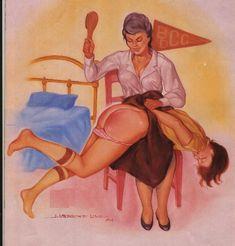 Best of Japanese Erotic Spanking Art