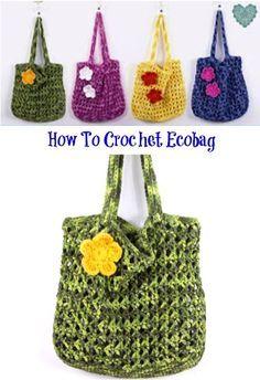 how to crochet Ecobag