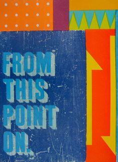 Brad Vetter Letterpress Prints