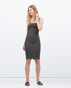 $20 ZARA - WOMAN - BASIC SLEEVELESS DRESS