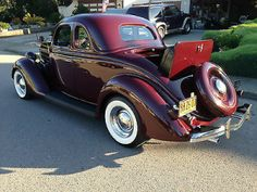 1936 Ford 5 Window Coupe...