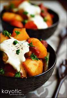 Hungarian potato goulash..one of my favourites,simple,easy,delicious & comforting.