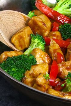 The easiest, most unbelievably delicious Honey Garlic Chicken recipe. And it'll be on your dinner table in just 15 minutes. Succulent chicken cooked in honey, garlic and soy sauce mix, seared in frying pan with vegetables. Ready in 15 minutes! Quick and easy dinner recipe.