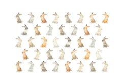 """""""Rabbits"""" −RiLi, picture book, illustration, design ___ """"いろんなうさぎたち"""" −リリ, 絵本, イラスト, デザイン ...... #illustration #rabbit #イラスト #うさぎ"""