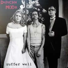 Depeche Mode, the family photo!  HA love this , from Suffer WELL.  Yes, that is really Martin Gore as the bride ane Andy Fletcher as the Groom.  Guess that makes Dave Gahan the flower girl? Looks like he needs a bath