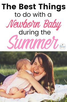 Easy Summer Activities for Mom with a New Baby - New Mom - Neugeborene How To Dress Newborn, Newborn Outfits, Newborn Activities, Best Baby Toys, Crawling Baby, Summer Baby, Summer Heat, Newborn Essentials, Baby Necessities