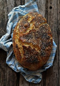 Bread Recipes, Vegan Recipes, Vegan Food, Food Crush, Bread Bun, Superfoods, No Bake Cake, Food Videos, Bakery