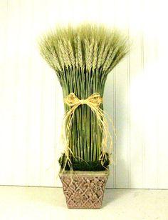 Decorative Wheat Sheaf Botanical Decor