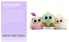 Angry Birds 2 Birthday Ecards Angry Birds Funny, Angry Birds 2 Movie, Happy Birthday Ecard, 2nd Birthday, Birthday Cards, Angry Bird Pictures, Betty Boop Cartoon, Disney Drawings, Game Art