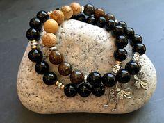 Gemstone bracelets: #Irish Pub & Pint of Stout + more! https://www.etsy.com/shop/JoyfulByNature?section_id=18185366&ref=shopsection_leftnav_3 #fashion #jewelry #newyears #beer