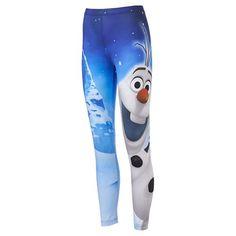 Disney Frozen Olaf Snow Day Leggings - Juniors #Kohls