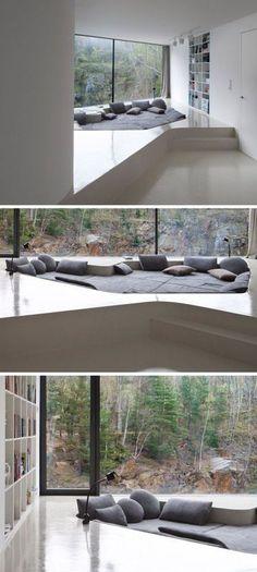 24 Best Desain Ruang Keluarga Tanpa Sofa images